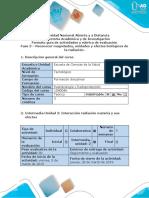 Guía de actividades y rúbrica de evaluación - Fase 3 – Reconocer magnitudes, unidades y efectos biológicos de la radiación..docx