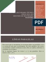 Ángulos Entre Paralelas 2018-2019