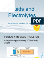 Fluids and Electrolytes Lecture (NCLEX)