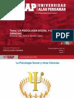 Semana 2 - La Psicología Social y Otras Ciencias(1)