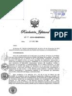 Resoluc Jefatural 115 2014 Cumplimiento y Aplicacion Directiva y Manual Riesgos Accion Humana