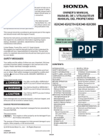 00X37Z8R8010 - Manual de Usuario Honda.pdf