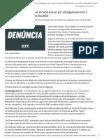 MPF Denuncia Homem Que Se Fazia Passar Por Advogado Perante a Justiça Federal Em Uberlândia (MG) — Procuradoria Da República Em Minas Gerais