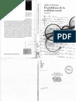 Alfred Schutz, El problema de la realidad social. Escritos I.PDF