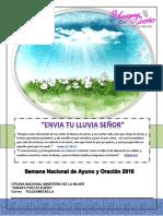 Semana Nacional de Ayuno y Oración APUS