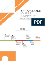 Plantilla Portafolio Community Manager V2