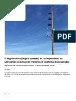El Angulo Critico En Las Inspecciones De Ultrasonido En Lineas De Transmision Y Sistemas Enclaustrados.pdf