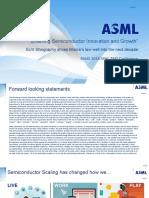 ASML Enabling Semiconductor Innovation
