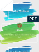 ed 2500- teacher wellness