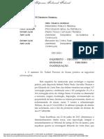 STF nega liberdade a Moreira Franco