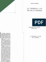 Lefebvre, Henri (1973) - La Violencia y el fin de la historia.pdf
