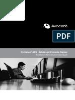 Acs Serial Console Manual