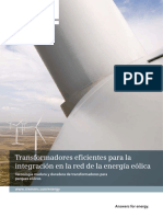 Transformers for Wind-power SP