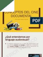 Conceptos Del Cine Documental