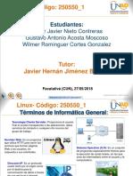 Presentación Grupo 1 Linux