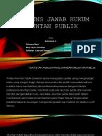 PPT Klmpk 4 Tanggung Jawab Hukum Akuntan Publik