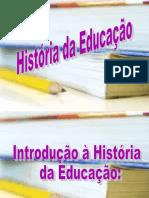 histora cultura e educação.ppt