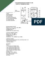 Manual de Instrucion Multi Tester Yx-360tr
