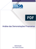 Apostila Análise das Demonstrações Financeiras