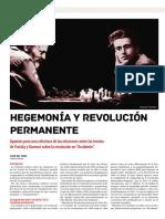 Hegemonia y Revolucion permanente
