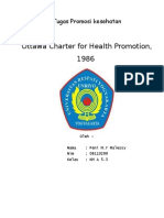 Ottawa Charter for Health Promotion, 1986