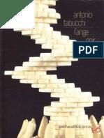 Tabucchi, Antonio - L'Ange Noir