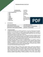 PROGRAMACIÓN ANUAL DE MATEMATICAS DE QUINTO  - 2018.docx