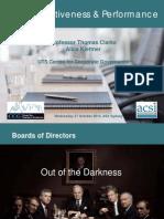 Australian Corporate Boards