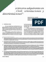 PROTECCIÒN A TERCEROS ADQUIRENTES CODIGO CIVIL.pdf