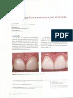 A textura superficial em restaurações anteriores CALIXTO - MASSING BATTISTELLA 2014 (1)