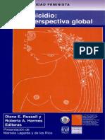 Russell, Roberta a. Harmes (Eds.) - Feminicidio. Una Perspectiva Global
