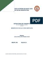 Memoria de Calculo Vigas Entrepiso.docx