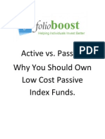 The Case for Passive Index Investing