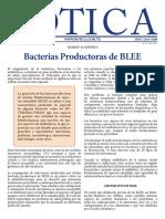 Bacterias Productoras de BLEE