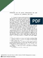 Lenguas de América del Sur