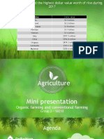 Mini Presentation - Agriculture
