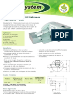 Machsystem Coletor de Oleo Oil Skimmer Tipo Disco Osd Oil Skimmer Machsystem Catalogo 940215