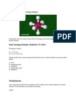 Pembahasan Kimia UN Bentuk Molekul.docx