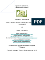 ADA # 1.- Análisis de Casos y Gestión de La Identidad Digital y Huella Digital