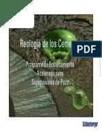 02 - Reología de Las Lechadas de Cemento