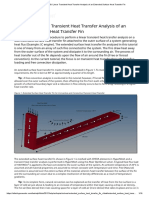 OS-T_ 1090_ Linear Transient Heat Transfer Analysis of an Extended Surface Heat Transfer Fin