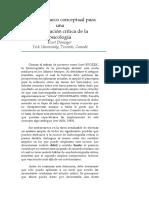 Hacia un marco conceptual para una historizacion critica de la psicologia
