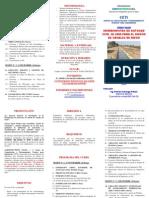 Tríptico Curso Herramientas Civil 3D 2009 Diseño Canales