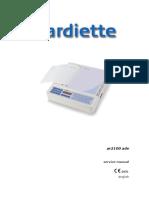 Cardiette AR2100 - Service Manual