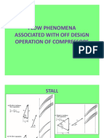 Off Design Flow Phenomena - Air Compressors