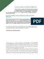 Contrato de obra a precio alzado en la Doctrina Mexicana.docx