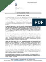 19-03-22 - Communiqué de Presse - SNETAA FO Polynésie - Fusion Taaone Et Aorai