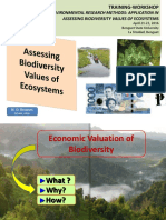 Assessing Biodiversity
