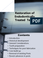 Restoration of Endodontically Treated  Teeth.pptx