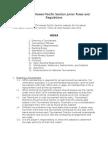 2010 USTA HPS Junior Rules and Regulations v6